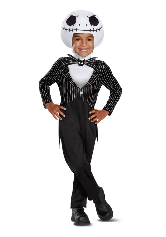 NIGHTMARE BEFORE CHRISTMAS CHILD'S CLASSIC JACK SKELLINGTON COSTUME