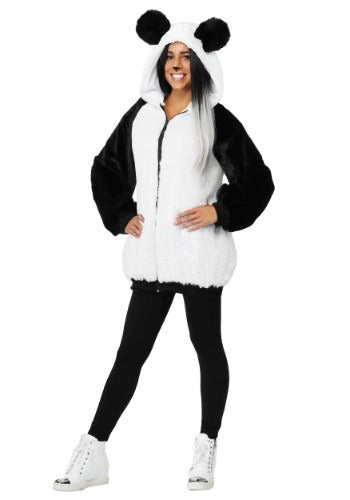 WOMEN'S PANDA HOODED JACKET COSTUME