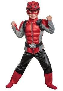 POWER RANGERS BEAST MORPHERS RED RANGER COSTUME FOR KIDS