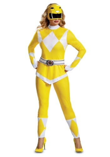 POWER RANGER YELLOW RANGER WOMEN'S COSTUME