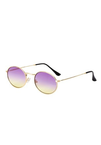 PURPLE FADE HIPPIE SUNGLASSES