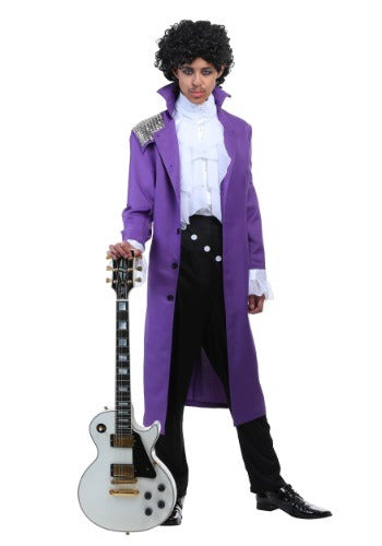 MEN'S PURPLE ROCK LEGEND COSTUME