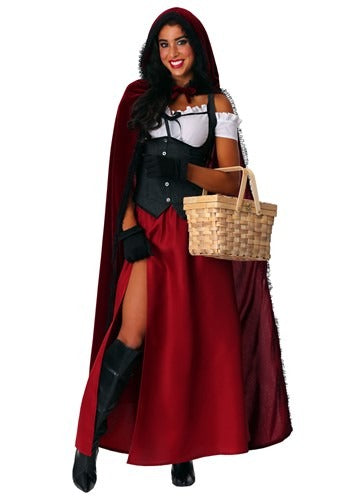 WOMEN'S RAVISHING RED RIDING HOOD COSTUME