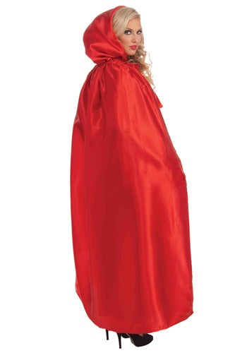 Red Satin Cape