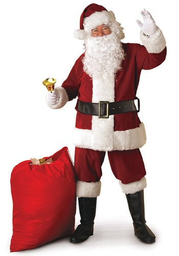 REGAL SANTA SUIT COSTUME