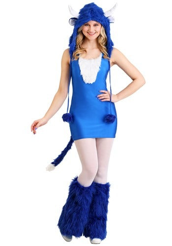 SEXY BABE THE BLUE OX COSTUME