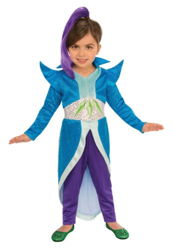 SHIMMER AND SHINE ZETA GIRL'S COSTUME