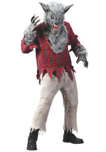 SILVER WEREWOLF MEN'S COSTUME