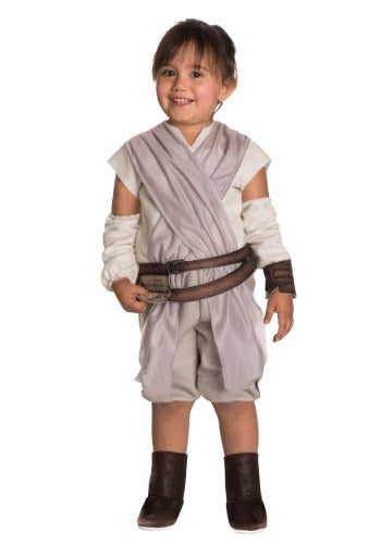 TODDLER GIRLS STAR WARS THE FORCE AWAKENS REY COSTUME