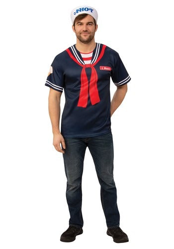 STRANGER THINGS SCOOPS AHOY STEVE ADULT COSTUME