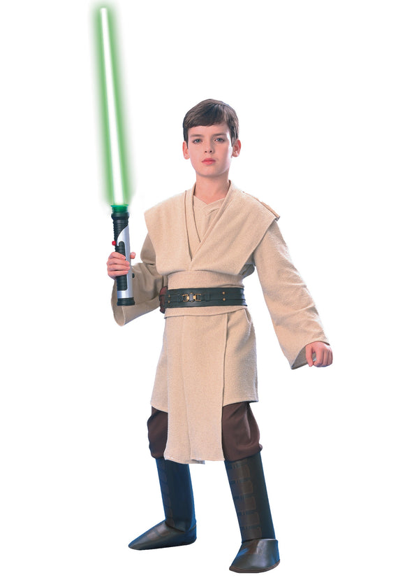 SUPER DELUXE CHILD QUI-GON JINN COSTUME