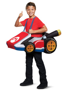 SUPER MARIO KART RIDE IN COSTUME FOR KIDS