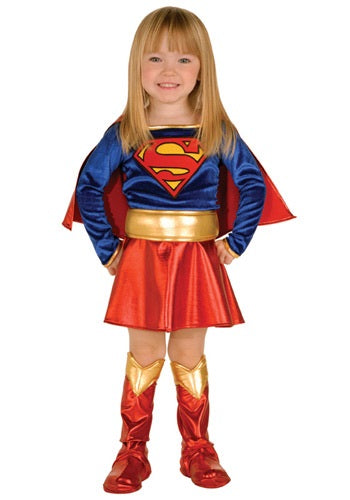 DC COMICS TODDLER GIRLS SUPERGIRL COSTUME