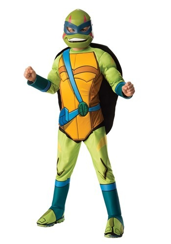 TEENAGE MUTANT NINJA TURTLE LEONARDO DELUXE KIDS COSTUME