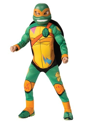 TEENAGE MUTANT NINJA TURTLE MICHELANGELO DELUXE KIDS COSTUME