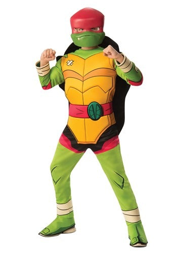 TEENAGE MUTANT NINJA TURTLE RAPHAEL DELUXE KIDS COSTUME
