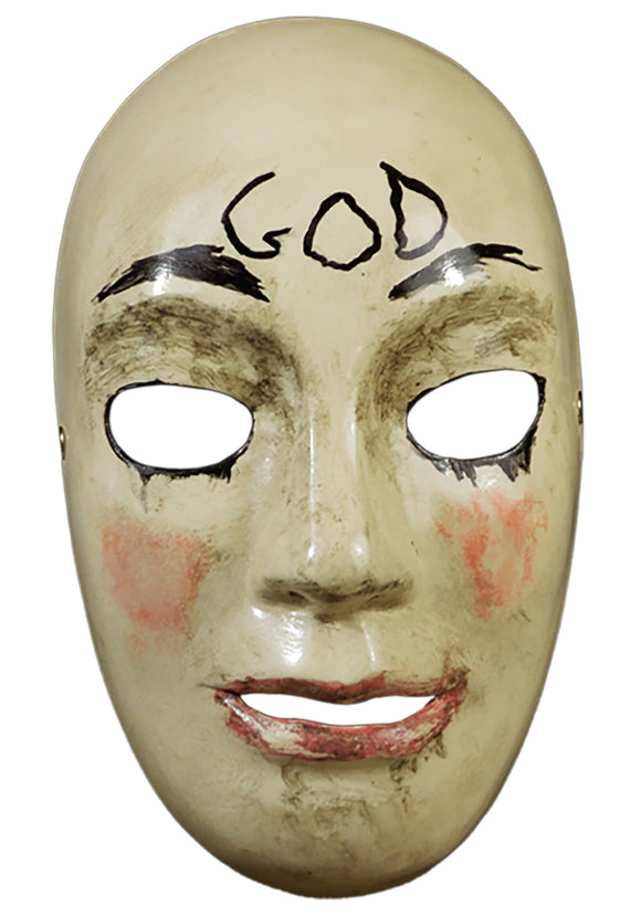 THE PURGE GOD MASK
