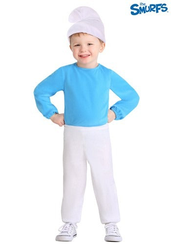 TODDLER THE SMURFS SMURF COSTUME