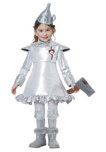 GIRLS TIN MAN TODDLER COSTUME