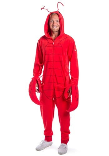 TIPSY ELVES MEN'S LOBSTER JUMPSUIT