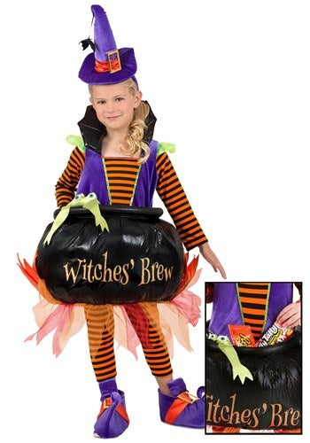 Candy Catcher Cauldron Witch Costume for Toddlers