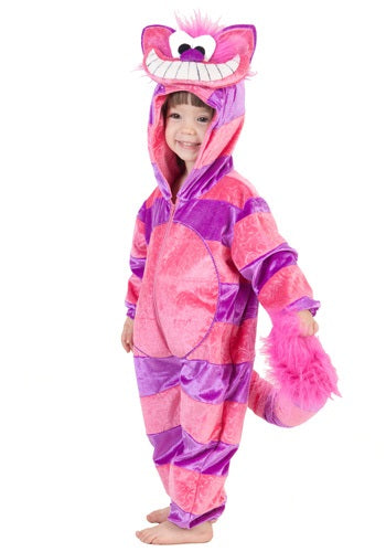 TODDLER CHESHIRE CAT COSTUME JUMPSUIT