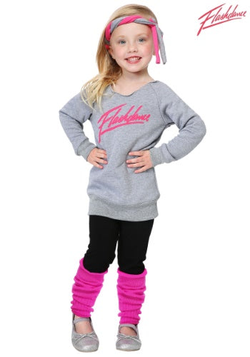 OFFICIALLY LICENSED TODDLER FLASHDANCE COSTUME