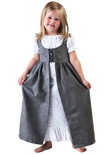 TODDLER GIRLS RENAISSANCE FAIRE COSTUME