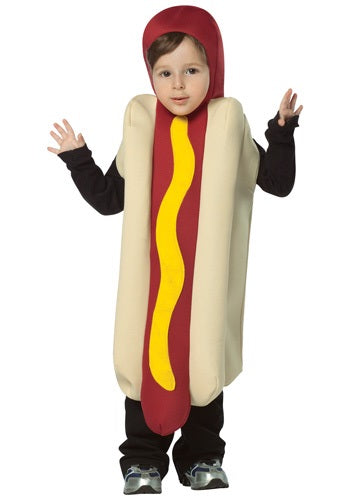 TODDLER HOTDOG COSTUME