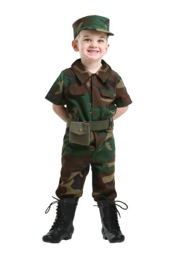 TODDLER INFANTRY SOLDIER COSTUME