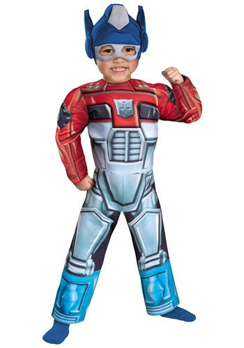 TODDLER OPTIMUS PRIME RESCUE BOT COSTUME