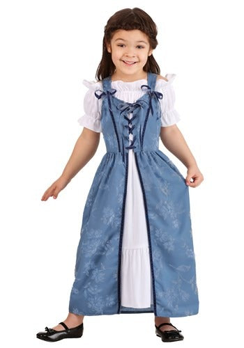 TODDLER GIRLS RENAISSANCE VILLAGER COSTUME