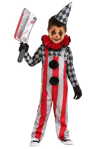 Wicked Circus Clown Toddler Costume