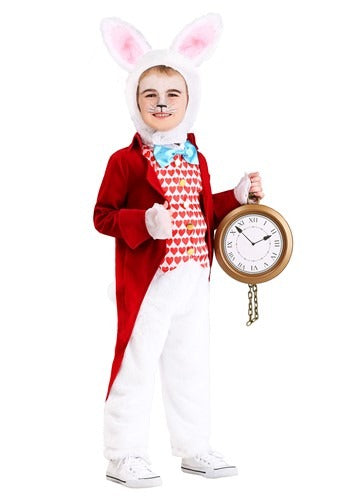 TODDLER'S DIGNIFIED WHITE RABBIT COSTUME