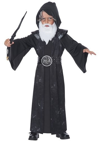 TODDLER WITTLE WIZARD COSTUME