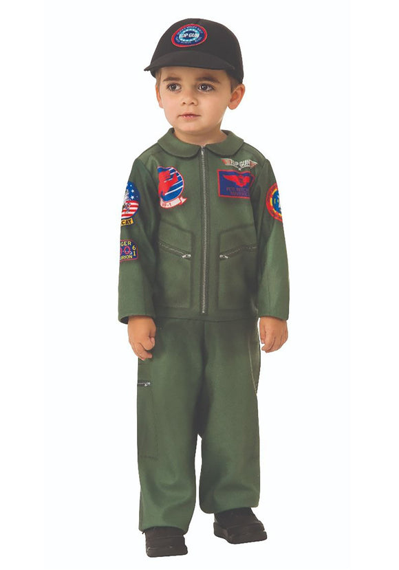 TOP GUN ROMPER COSTUME FOR TODDLERS
