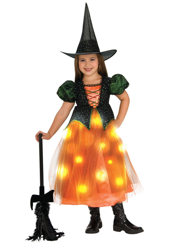 GIRLS TWINKLE WITCH COSTUME