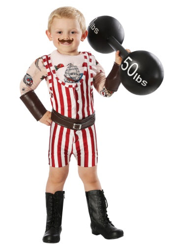 TODDLER VINTAGE STRONGMAN COSTUME