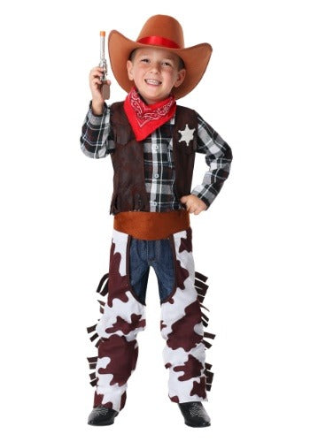 BOY'S WILD WEST SHERIFF COSTUME