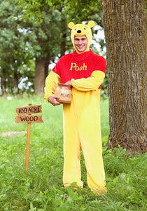 WINNIE THE POOH DELUXE POOH ADULT COSTUME