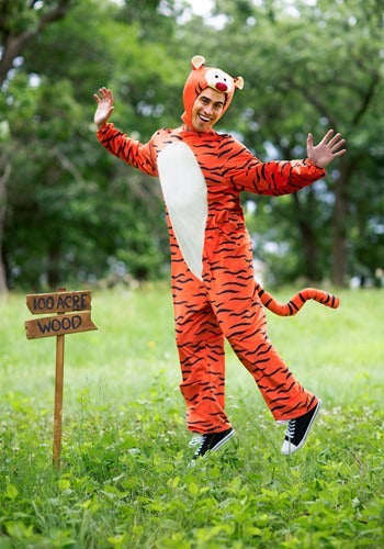 DELUXE WINNIE THE POOH TIGGER ADULT COSTUME
