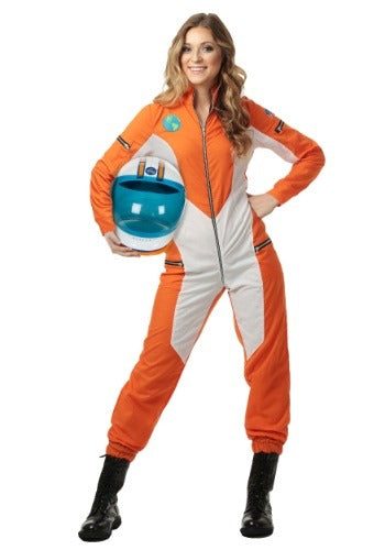 WOMENS ASTRONAUT JUMPSUIT COSTUME