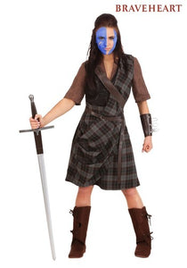 BRAVEHEART WOMEN'S WARRIOR COSTUME