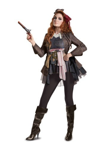 LADIES CAPTAIN JACK SPARROW DELUXE COSTUME