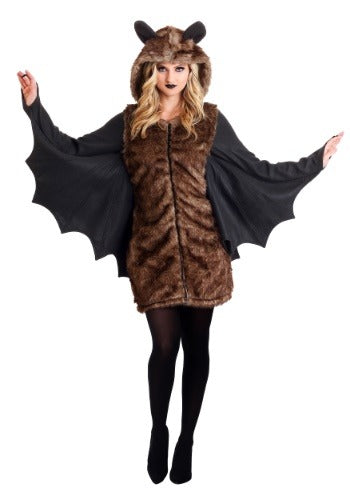 WOMEN'S DELUXE BAT COSTUME