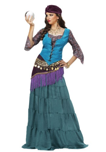 FABULOUS FORTUNE TELLER GYPSY WOMEN'S COSTUME