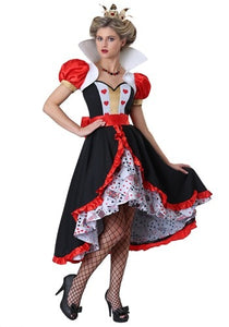 FLIRTY QUEEN OF HEARTS WOMEN'S COSTUME