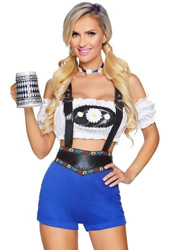 Women's Lederhosen Honey Costume