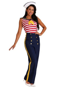 WOMEN'S PERFECT PIN UP SAILOR COSTUME