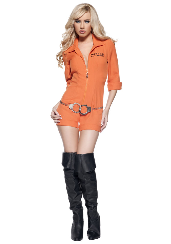 WOMEN'S PRISON JUMPSUIT COSTUME
